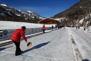 Winter Eisstockschiessen